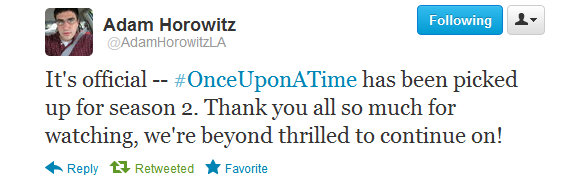 Season Two - Once upon a time