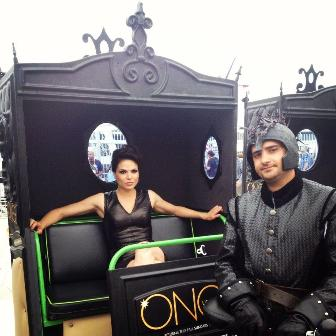 lana parilla - once upon a time - evil queen - comic con