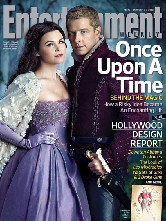 Entertainment Weekly | Snow White | Prince Charming | Ginny Goodwin | Josh Dallas