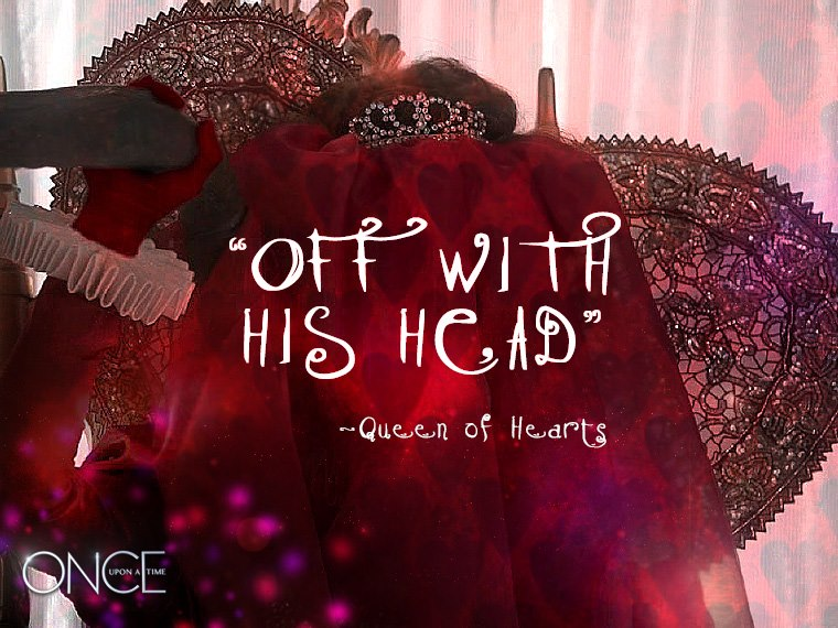 Queen of Hearts - Once Upon a time