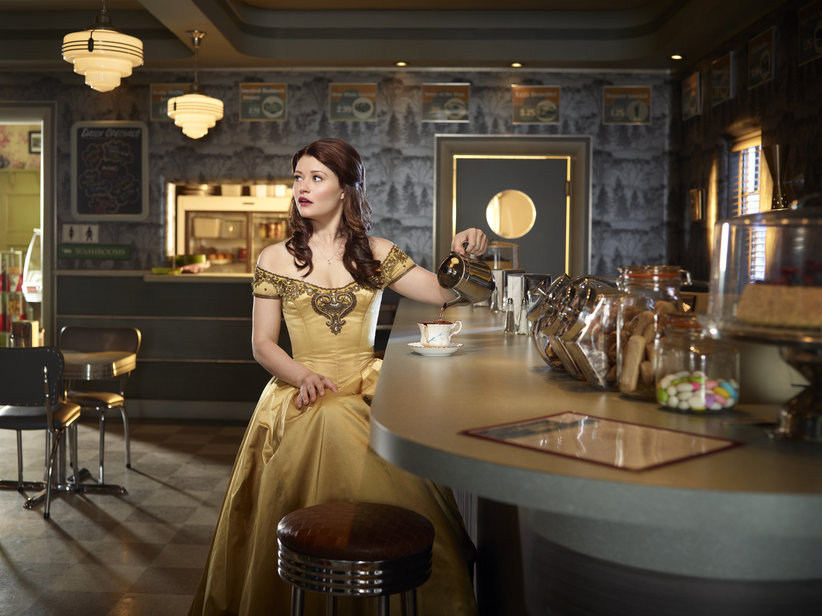 Emilie de Ravin as Belle.