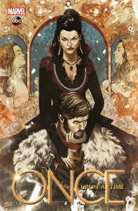 shadow of the queen - once upon a time - comic book