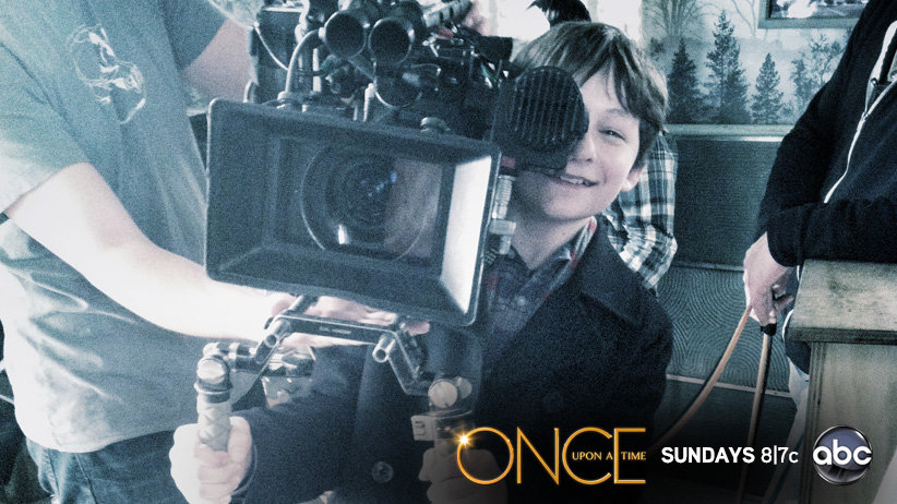 Jared Gilmore - behind the scene