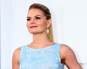 Jennifer Morrison - Blue Dress